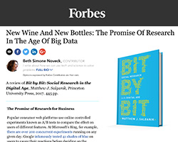 Screenshot of review in Forbes